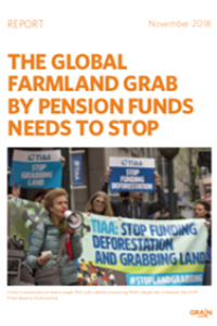The global farmland grab by pension funds needs to stop